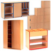 Adityas Furniture: STORAGE & LOCKERS