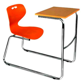 Wc1601 Writing Chair