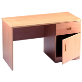 Study Desk With Drawer/ Cupboard