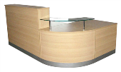 Adityas Furniture: RECEPTION COUNTER DESK